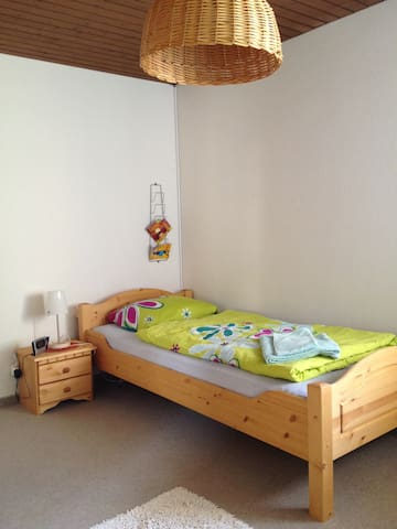 Single Room Wi-Fi, PP between Baden/Brugg - Gebenstorf - Oda + Kahvaltı