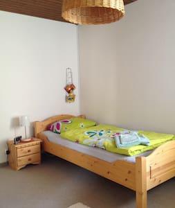 Einzelzimmer zwischen Baden/Brugg, Wi-Fi, PP - Gebenstorf - ที่พักพร้อมอาหารเช้า
