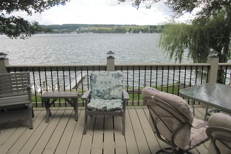 Lakefront Hideway in Western NY - Castile - 一軒家