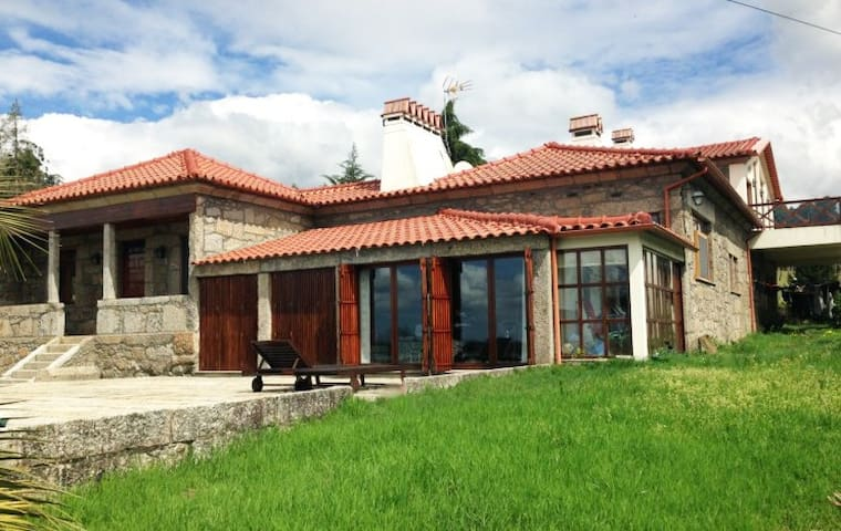 Casa da Eira - Room Bernardino Machado - Mouquim - Faház