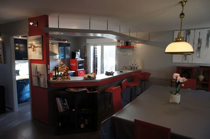 STRASBOURG Sud, PARADIS au bord ILL - Illkirch-Graffenstaden - Apartamento