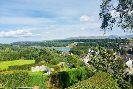 Craig Fach Great view in the heart of Menai Bridge