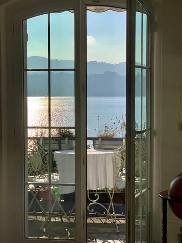 Seesicht pur 5 min von Zürich - Lake view deluxe
