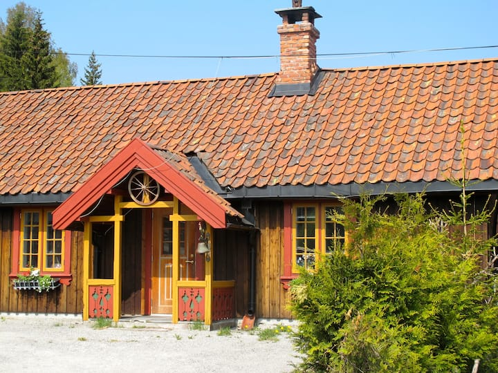 Cosy house in the wood close to Osl