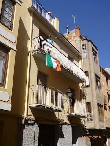 Double room with shower in central Alcañiz (2) - Alcañiz - Casa