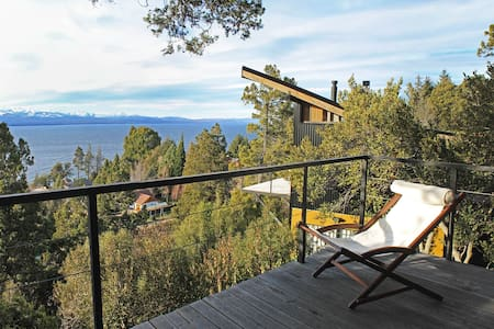 TREE HOUSE WITH LAKE VIEW - San Carlos de Bariloche