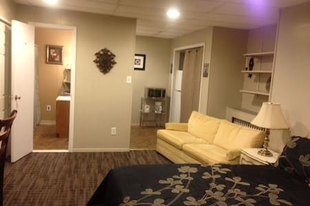 Private Apt-Minutes from Downtown - Pittsburgh - Lejlighed
