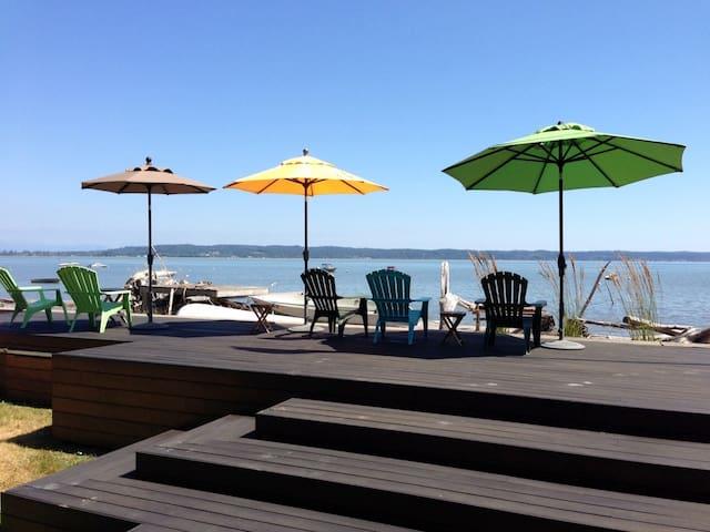 Beach-Front Cabin, Camano Island