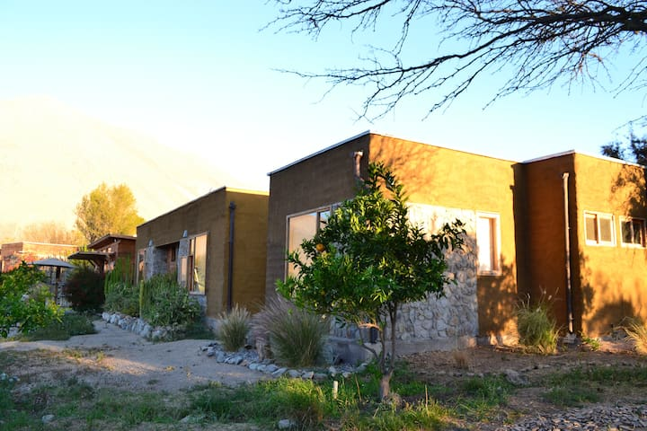 Elqui Valley, Vicuna, triple room!