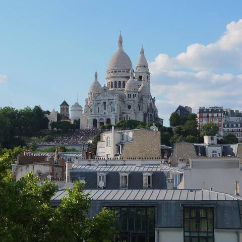 380 sqft - View on Sacré Cœur ! - París - Departamento