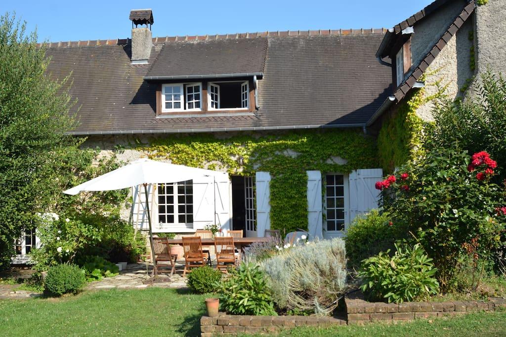 Maison avec piscine en normandie maisons louer saint for Piscine de gaillon