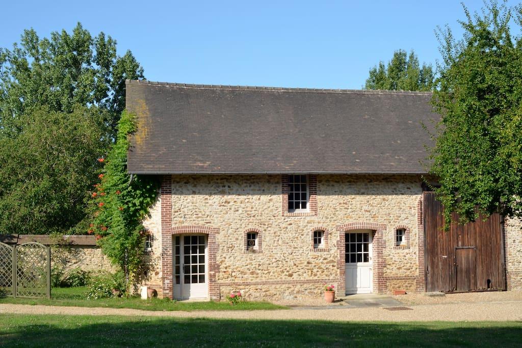 Maison avec piscine en normandie maisons louer saint for Piscine gaillon