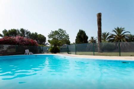 MARINELAND DUPLEX vue mer parking piscine UNIQUE!! - Antibes - Apartment