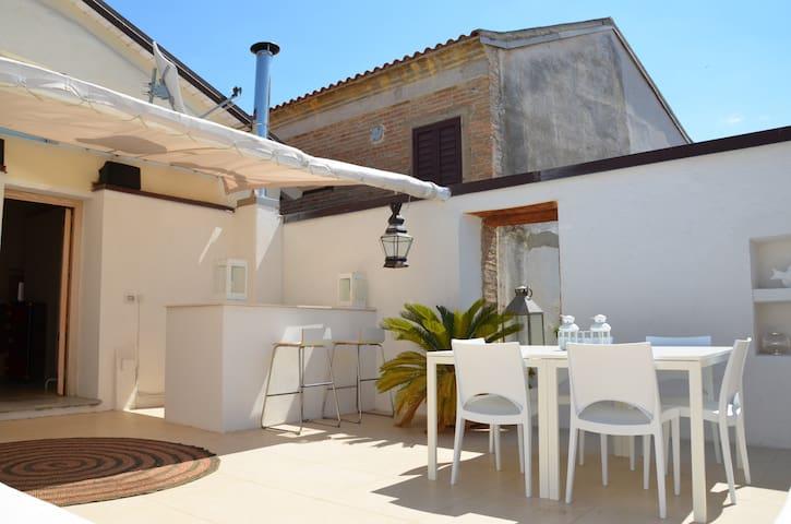 Catona casa charme marinara - Reggio Calabria - Huis