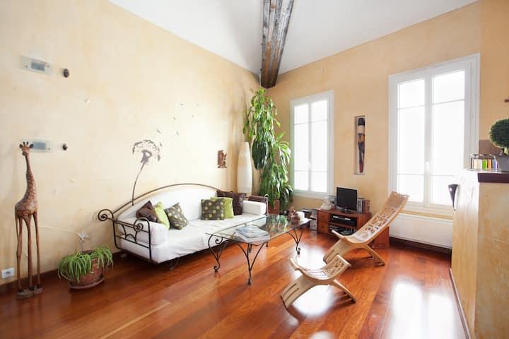 Loft very charming in Paris