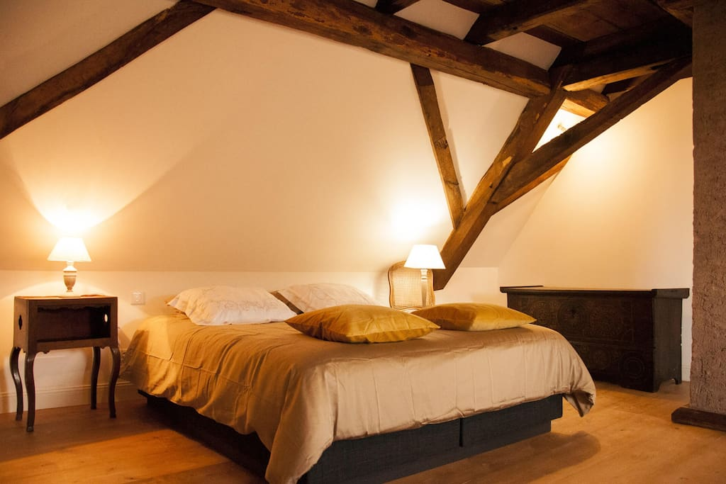 chambre aux portes de la route des vins d 39 alsace guesthouses for rent in nordheim grand est. Black Bedroom Furniture Sets. Home Design Ideas