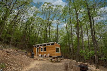 Custom Built Tiny House on 23 Acres of Forest