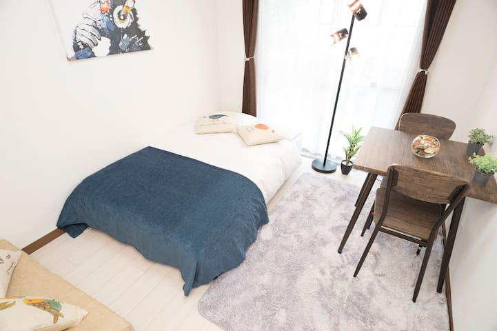 #23 Hakata(博多) Central apartment 4 pax FREE WIFI!
