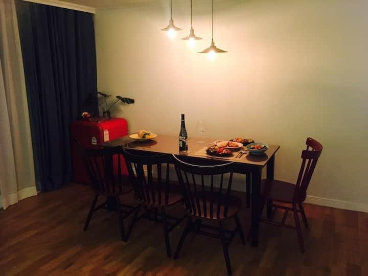 안동 가족숙소, 조명이 예쁜 집, 아파트 독채 렌트,안동 [우리집]