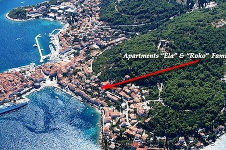 """ELA"" - A/2 pss-sea view-balcony-P - Korčula - Byt"