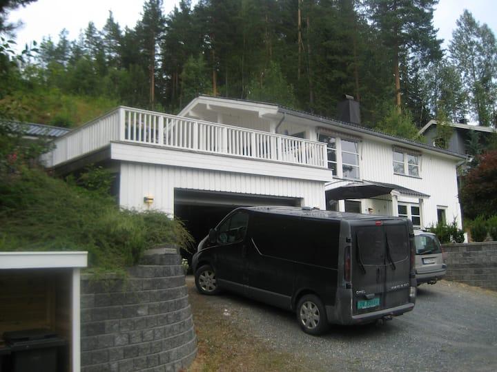 Flott lyst hus med utsikt i Seljord