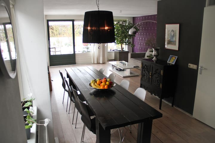 Modern House near Assen & Groningen - Eext - Rumah