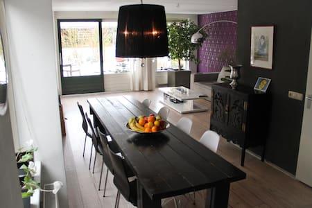 Modern House near Assen & Groningen - Eext - House