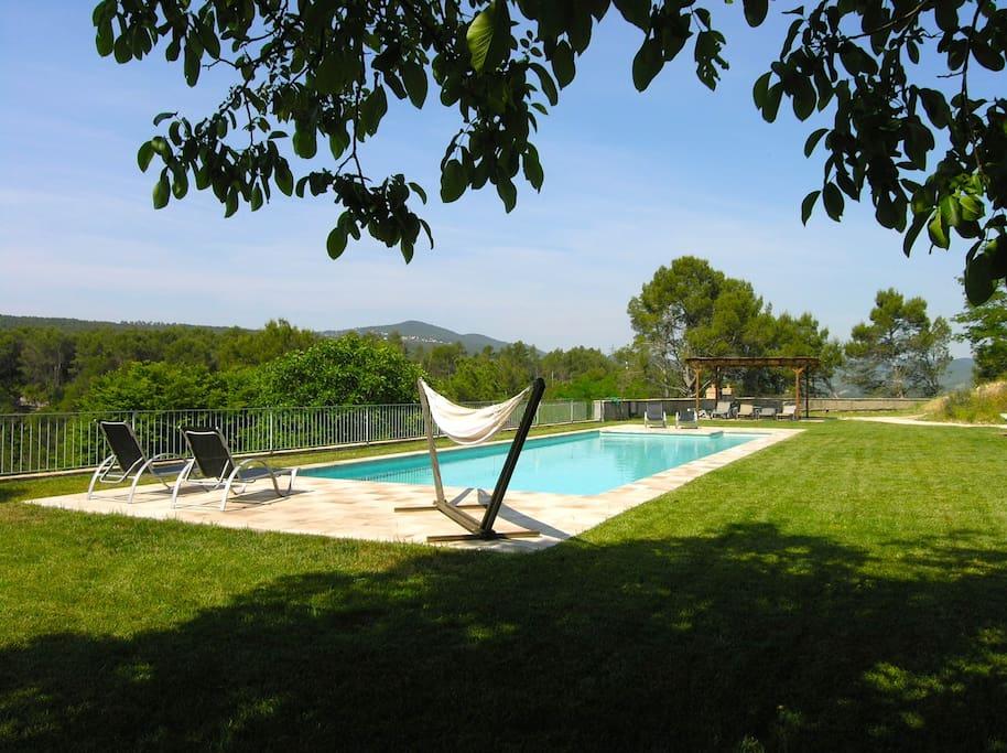 Swimming pool of Torre Nova
