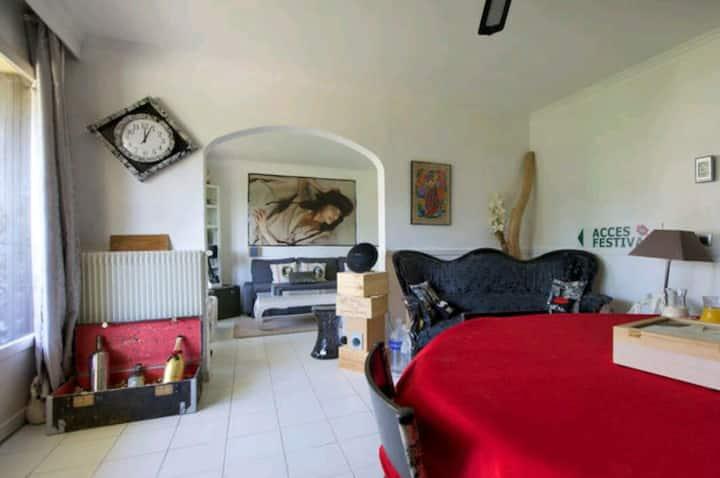 Chambre double dans un chaleureux Appartement
