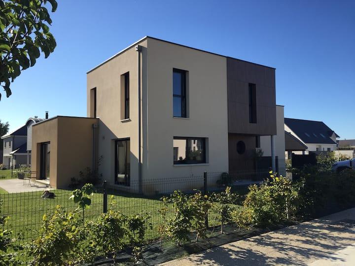 Maison d'Architecte à Belbeuf située à 7' de Rouen