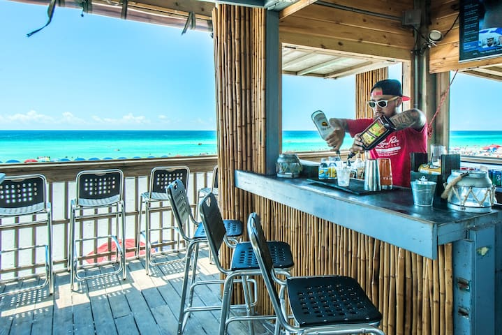 Ready for a drink on the beach?