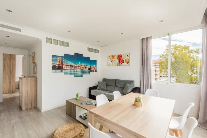 Luxury beach apartment in the center of Marbella