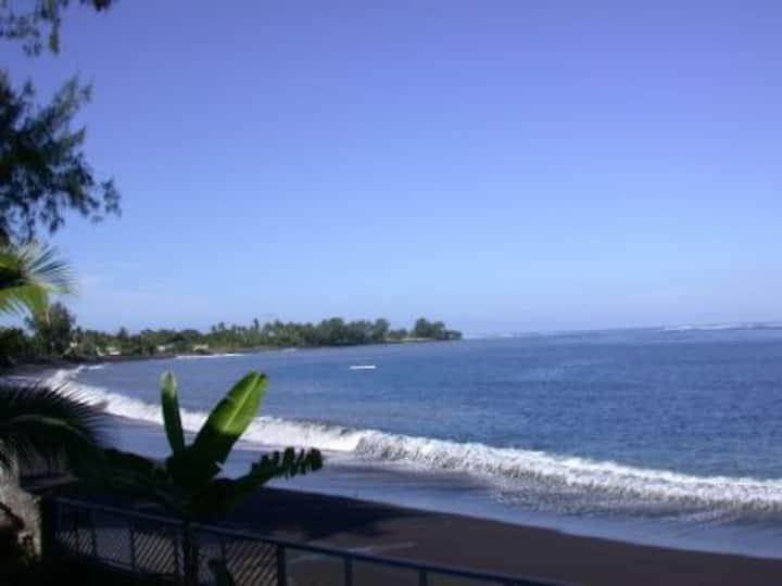 Studio en bord de mer à Tahiti