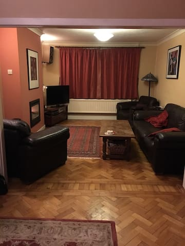 A spacious double room and a twin room - Cardiff - House