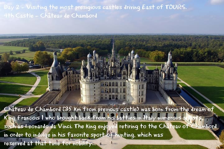 Loire Valley, a UNESCO world heritage site, awaits