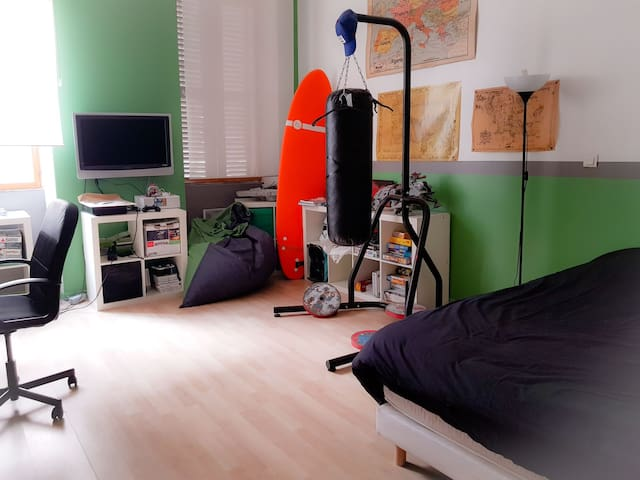 Chambre 3 - lit de 2 personnes