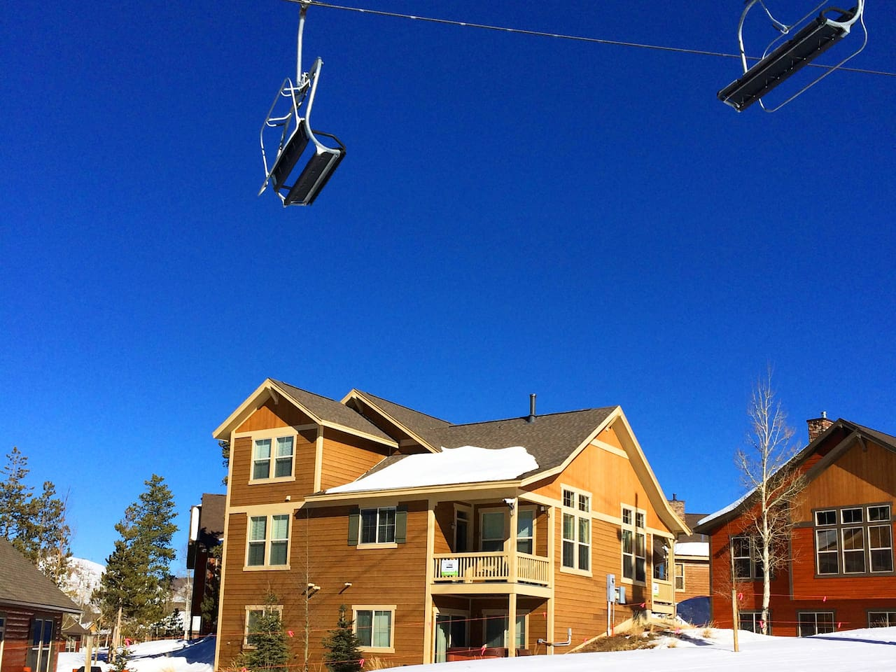 Granby Ranch, Direct Ski-In Ski-Out