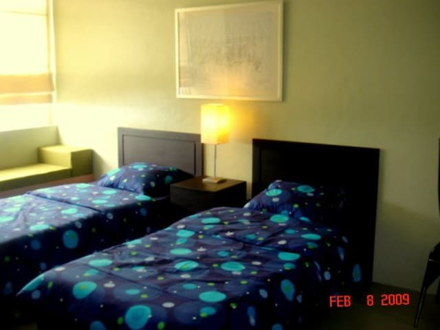 15th Floor Flat good for 2 - Quezon City - Lägenhet