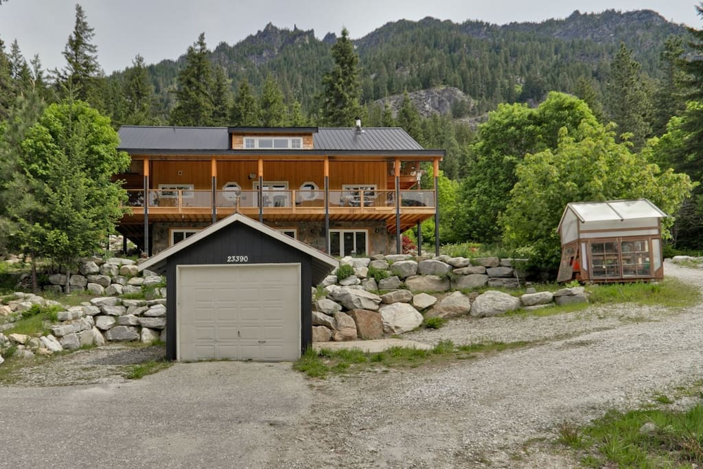 Lake Wenatchee Area Mtn Views Cabins For Rent In