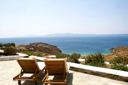 Stunning sea views, secluded villa! - Tinos