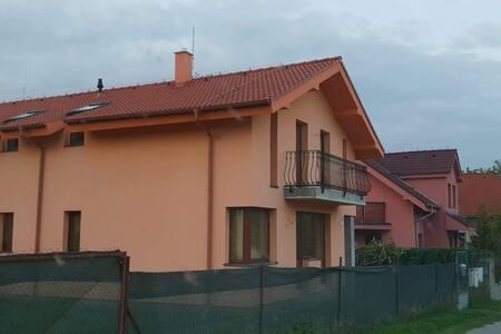 Apartment under Little Carpathian mountains.