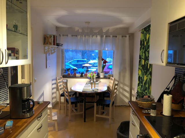 Cosy house in Uppsala - long time rent  Aug-Sept