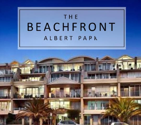 1st class apartment with pool & gym - Beachfront - Albert Park