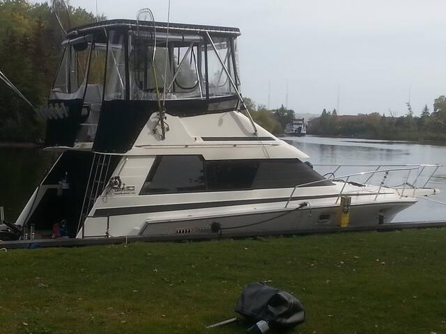 beautifull boat for a great getaway