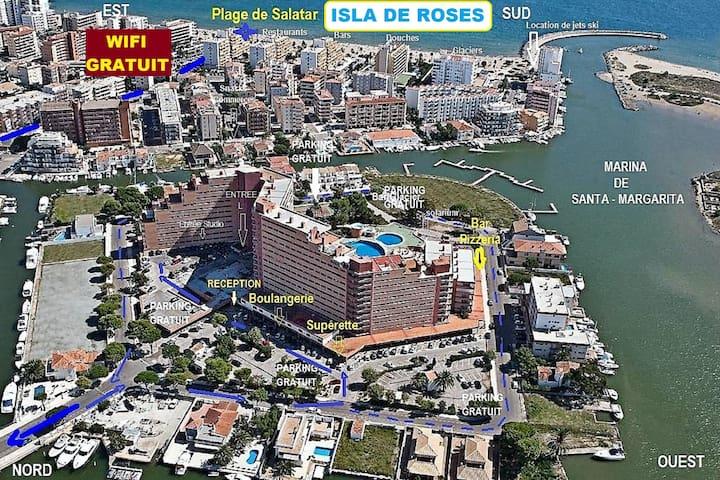 Jolie Résidence en Marina - (Ex- complexe ClubMed)