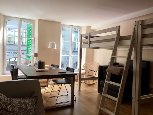 City Studio, Old Town, 3min to Bern station