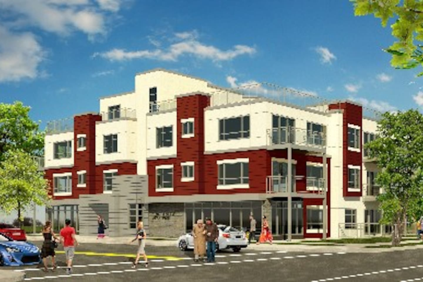Brand new residential suites in the heart of Garneau