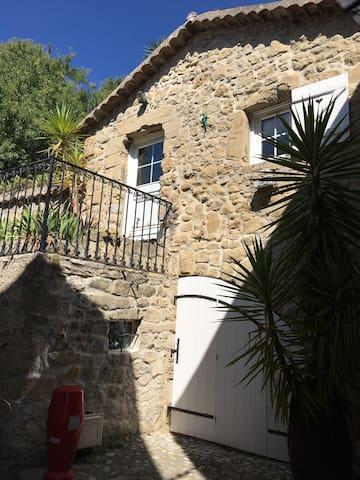 Charme Arrière Pays Niçois Coaraze - Coaraze - Casa