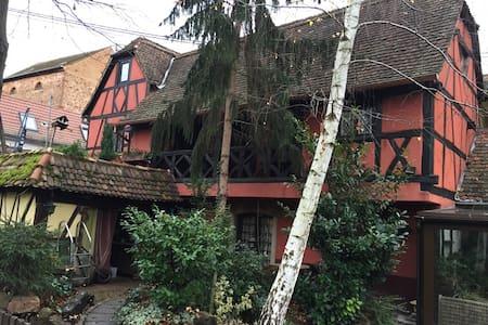 Chambre d'hôtes dans Maison Alsacienne - Brumath - ゲストハウス