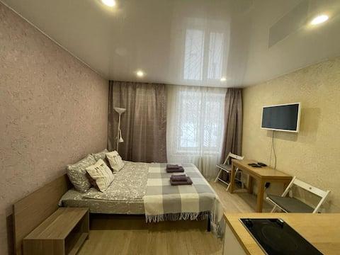 Уютная Purple Studio рядом с метро Каховская